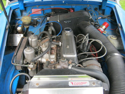 1978 MG MIDGET 1500 IN PAGEANT BLUE  RESTORED AND NEW ENGINE