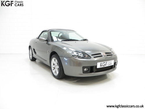 2003 A Superb MG TF 135, just 28108 Miles and Ready for Enjoyment SOLD (picture 1 of 6)