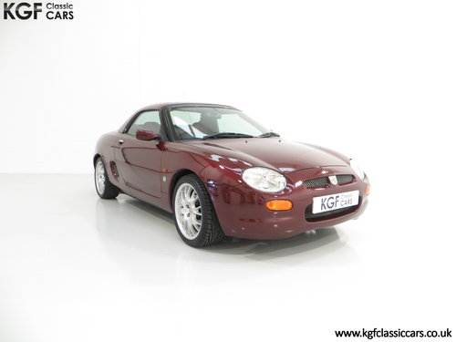 1999 A Limited Edition Individually Numbered MGF 75th Anniversary SOLD (picture 1 of 6)