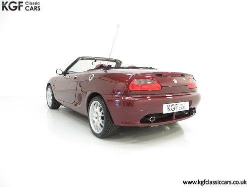 1999 A Limited Edition Individually Numbered MGF 75th Anniversary SOLD (picture 4 of 6)