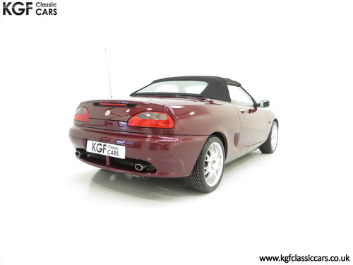 1999 A Limited Edition Individually Numbered MGF 75th Anniversary SOLD (picture 5 of 6)