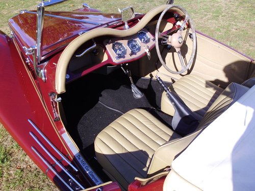 1954 MG TF 1250 Concours example  For Sale (picture 5 of 6)