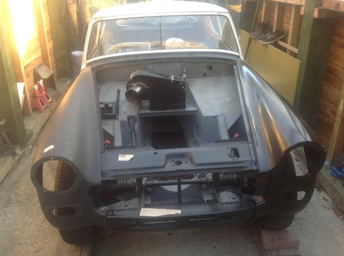 1977 MG Midget converted to a