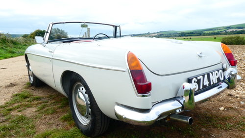 1964 MGB Roadster Fully restored  SOLD (picture 5 of 6)