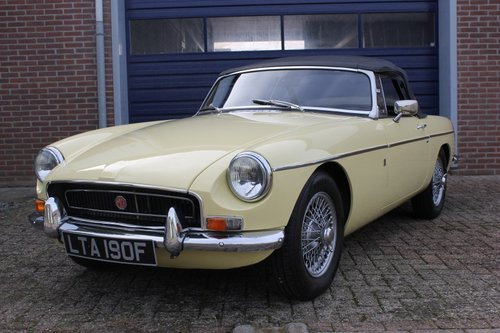 1970 Beatiful condition MGB Roadster - overdrive - RHD For Sale (picture 1 of 6)