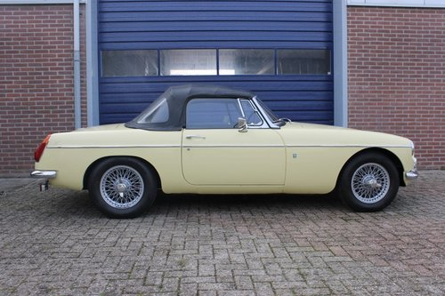 1970 Beatiful condition MGB Roadster - overdrive - RHD For Sale (picture 3 of 6)