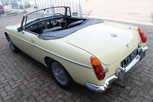 1970 Beatiful condition MGB Roadster - overdrive - RHD For Sale (picture 6 of 6)