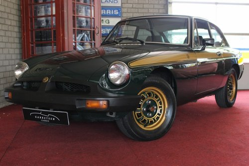 MGB GT 1975 Jublee edition - RHD For Sale (picture 1 of 6)