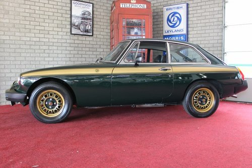 MGB GT 1975 Jublee edition - RHD For Sale (picture 2 of 6)