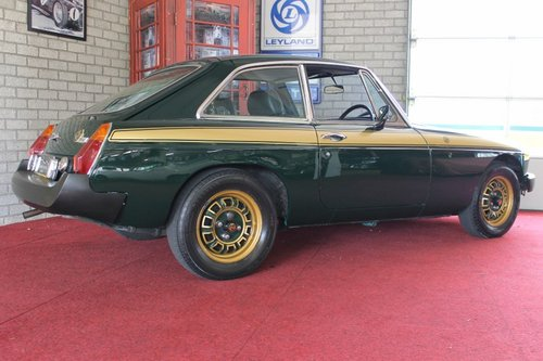 MGB GT 1975 Jublee edition - RHD For Sale (picture 4 of 6)