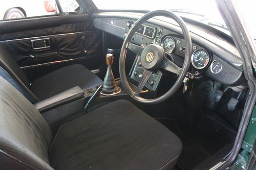 MGB GT 1975 Jublee edition - RHD For Sale (picture 5 of 6)