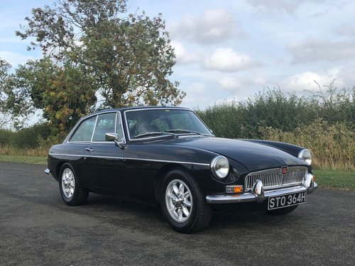 1969 MGB GT Oselli Graduate with Overdrive SOLD (picture 3 of 6)