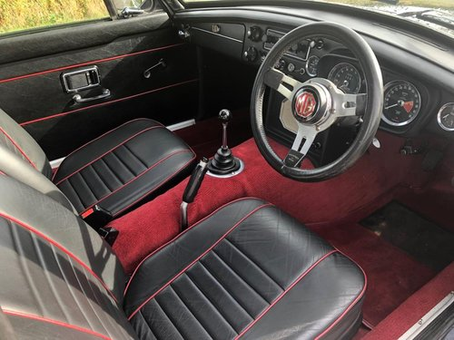 1969 MGB GT Oselli Graduate with Overdrive SOLD (picture 5 of 6)