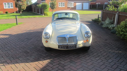 1958 MGA coupe 1500cc FOR SALE NEW PRICE £28000 ONO  For Sale (picture 1 of 6)