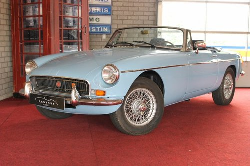 1974 MGB Roadster - Iris Blue - LHD For Sale (picture 1 of 6)