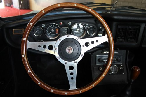 1974 MGB Roadster - Iris Blue - LHD For Sale (picture 6 of 6)