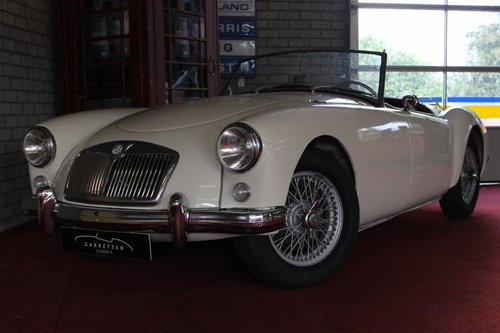 Beautiful MGA MKI - old english white - LHD For Sale (picture 1 of 6)