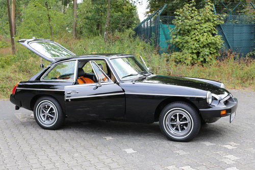 1980 Unique MG B GT with just 533 miles. SOLD (picture 3 of 6)
