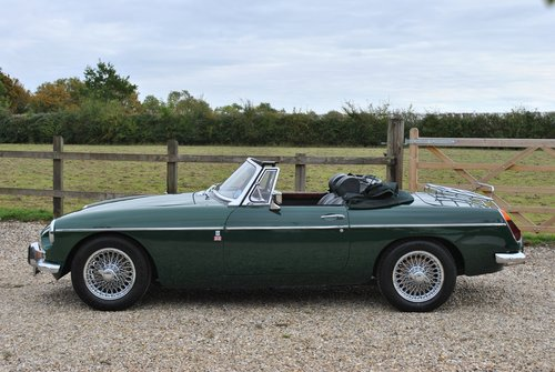 MGB Roadster with Over Drive 1970 SOLD (picture 4 of 6)