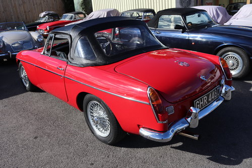 1966 MGB Roadster, Built by MG Motorsport SOLD (picture 4 of 6)