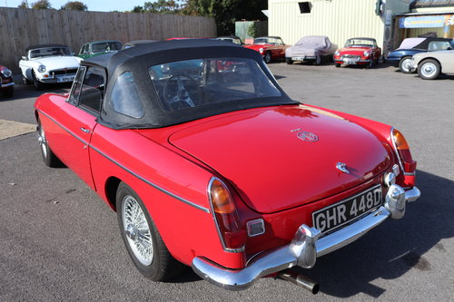 1966 MGB Roadster, Built by MG Motorsport SOLD (picture 5 of 6)