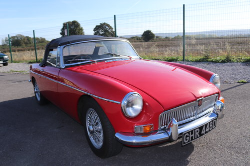 1966 MGB Roadster, Built by MG Motorsport SOLD (picture 6 of 6)