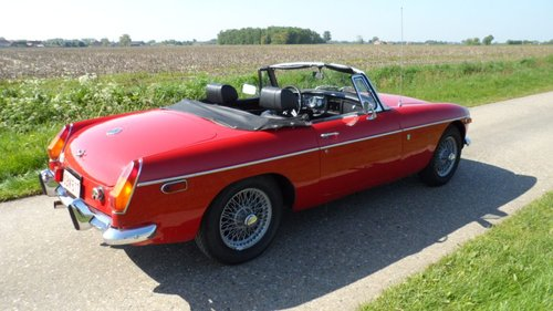 1972 MG Roadster '72 SOLD (picture 3 of 5)
