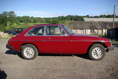 1975 Mgb gt For Sale (picture 1 of 6)