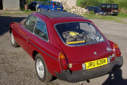 1975 Mgb gt For Sale (picture 5 of 6)