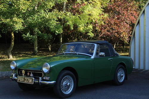 1973 MG MIDGET 1275 MK III SOLD (picture 1 of 6)