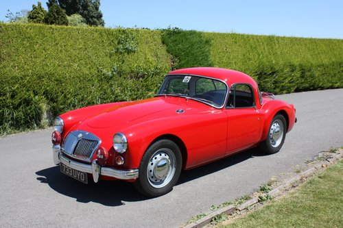 1961 MGA 1600 FHC - full restoration throughout. For Sale (picture 1 of 6)