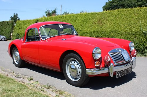 1961 MGA 1600 FHC - full restoration throughout. For Sale (picture 2 of 6)