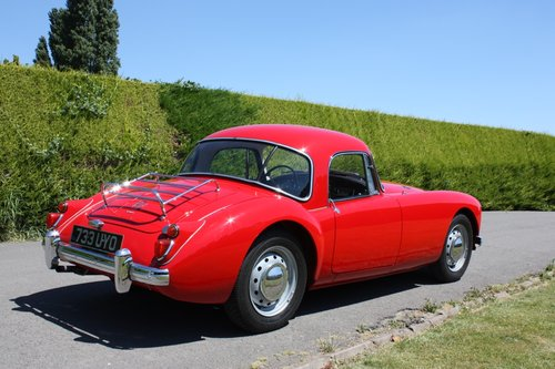 1961 MGA 1600 FHC - full restoration throughout. For Sale (picture 3 of 6)