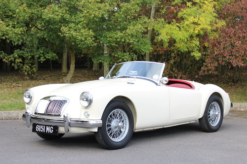1956 MGA 1500 MK 1 ROADSTER SOLD (picture 1 of 6)