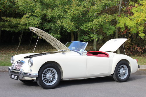 1956 MGA 1500 MK 1 ROADSTER SOLD (picture 6 of 6)
