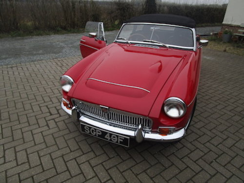 1968 MGC Roadster SOLD (picture 1 of 6)