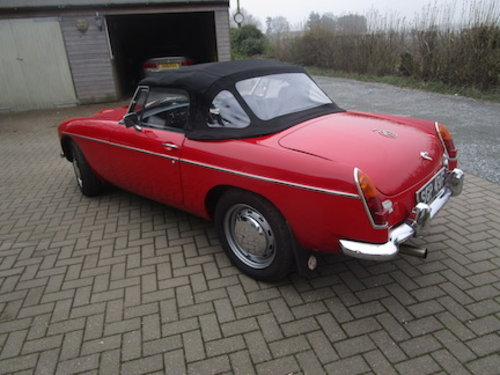 1968 MGC Roadster SOLD (picture 2 of 6)