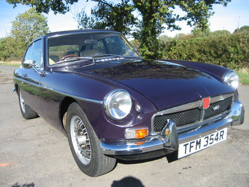 1976 MGB GT V8 SOLD (picture 2 of 6)