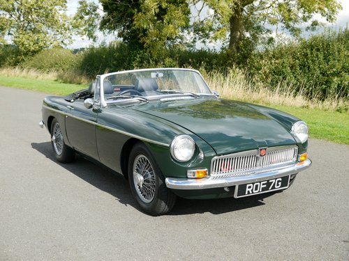 1969 MGB Roadster Manual with Overdrive SOLD (picture 3 of 6)