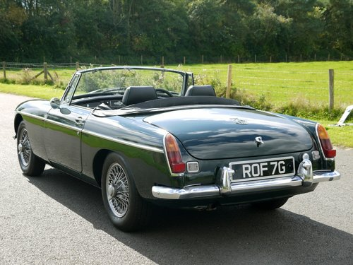 1969 MGB Roadster Manual with Overdrive SOLD (picture 4 of 6)