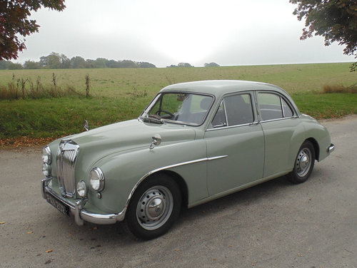1956 MG Magnette ZA SOLD (picture 1 of 6)