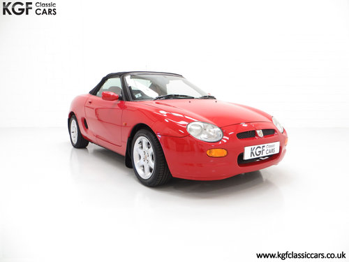1996 One of the First 1000 Built, MGF 1.8i with 13,824 Miles SOLD (picture 1 of 6)