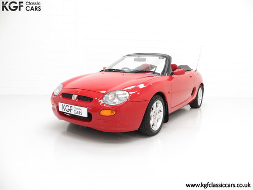 1996 One of the First 1000 Built, MGF 1.8i with 13,824 Miles SOLD (picture 2 of 6)