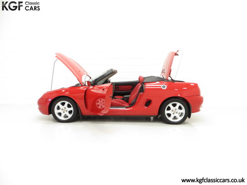 1996 One of the First 1000 Built, MGF 1.8i with 13,824 Miles SOLD (picture 3 of 6)