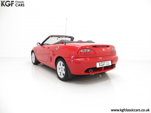 1996 One of the First 1000 Built, MGF 1.8i with 13,824 Miles SOLD (picture 4 of 6)