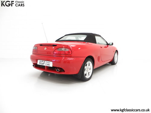 1996 One of the First 1000 Built, MGF 1.8i with 13,824 Miles SOLD (picture 5 of 6)