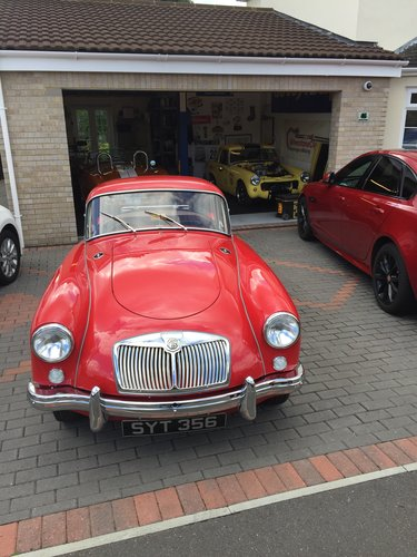 1957 MGA Coupe 1500 cc For Sale (picture 6 of 6)