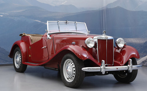 1953 MG TD 1.3 Roadster For Sale (picture 1 of 6)