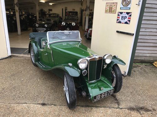 1935 MG PB 4 seat Sports - Very rare model! SOLD (picture 1 of 6)