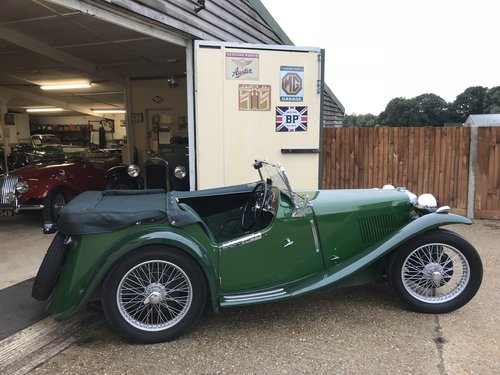 1935 MG PB 4 seat Sports - Very rare model! SOLD (picture 2 of 6)